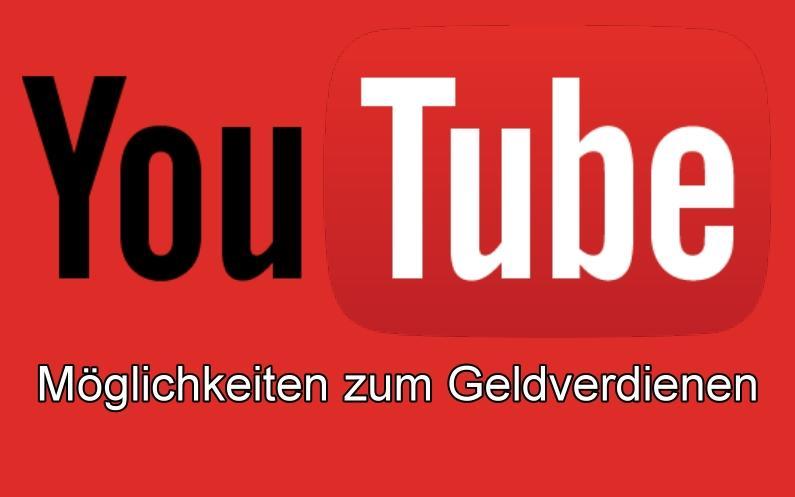 9 YouTube Möglichkeiten zum Geldverdienen